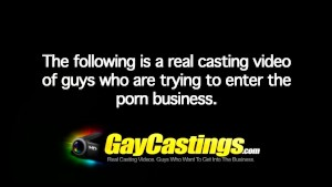 GayCastings - Twink shows off dance moves for cash