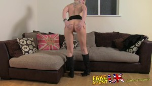 FakeAgentUK Filthy hot euro girl in anal casting