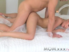 MOM Horny Blonde wife Love an afternoon Fuck