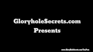 Gloryhole Secrets Latin milf Mia loves sucking of strangers POV