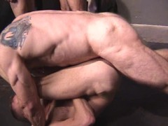 Picture Hairy Studs Have A Foursome - Factory Video