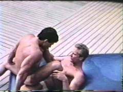 Sunbathers fuck near the pool - Blue Vanities
