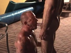 Resort pool suck and fuck - Factory Video