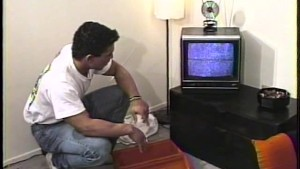 TV Repairman gets his antenna wet - Time Warp to the 80s