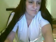 Ex GF in Nurse's outfit playing on cam