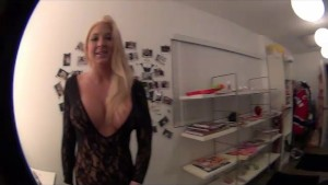 Behind the Scenes with hot blondes Leya Falcon and Jessica
