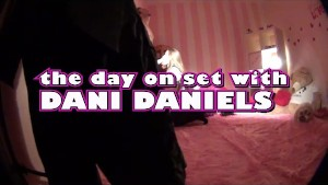 A day on set with Pornstar Dani Daniels