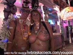 Mardi Gras Style Festival but in Key West Florida
