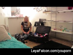 Behind the Scenes fun with Leya Falcon
