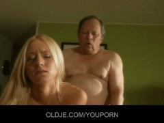 - Sleazy old man gets fu...