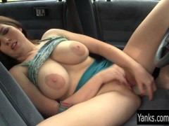 - Busty Amber Toy Her Pu...