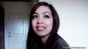 Beautiful young Filipina babe Ciara enjoys casual morning sex