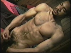Beating his meat - East Harlem Productions
