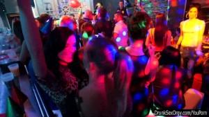 Nasty party chicks dancingd