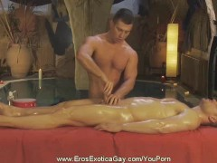 Massaging The Genitals Gently