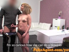 FakeAgent Cute blonde ... video