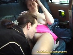 backseat taxi fuck