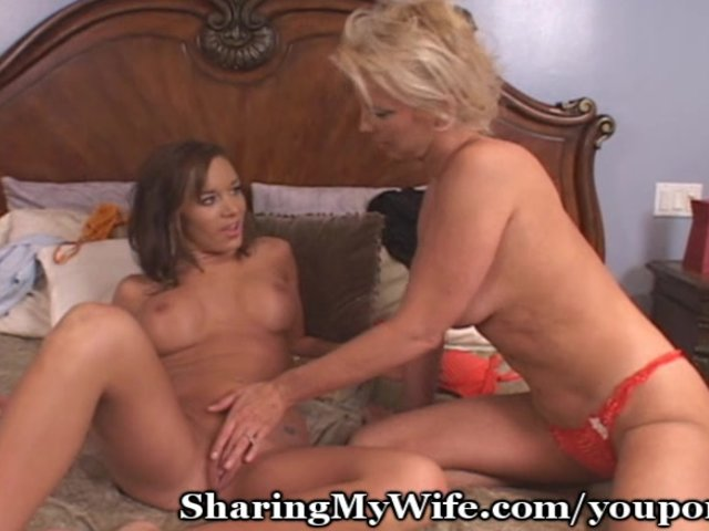 Mature couple seduce young
