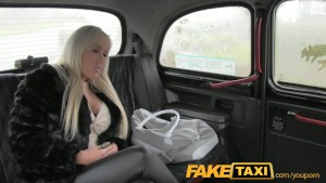 FakeTaxi Horny blonde milf wants it up the ass