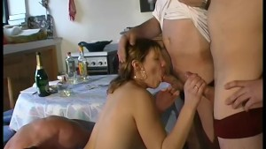 Young babe fucked by some lovely men - Telsev