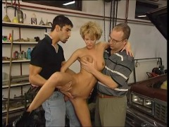 - Mechanic fucks wife in...