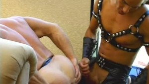 Latin hunk gets his leather freak on - Pacific Sun Entertainment