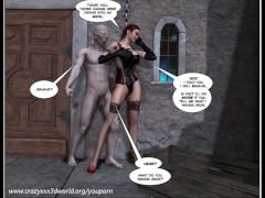 Picture 3D Comic: Fetish Island. Episodes 1-2