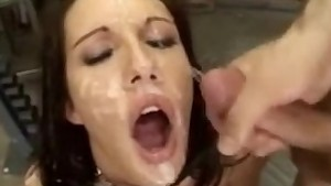 FACES OF CUM : Taylor Rain 2