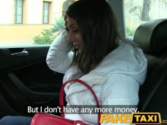 FakeTaxi Russian tourist with a nice tight pussy