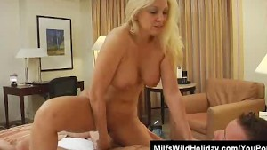 Cock Sucking Milf On A Holiday Cala