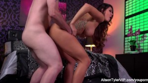 Busty Alison Tyler gets fucked hard