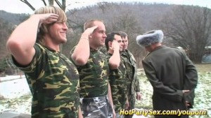 military groupsex orgy