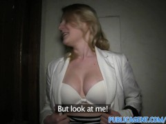 YouPorn Movie:PublicAgent Short haired blond...