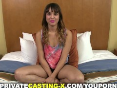 Private Casting X - She is bisexual and loves dick