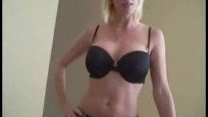 step-Mom Catches Her Son Masturbating And Helps Him