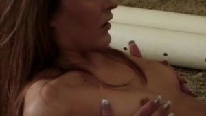 Redhead fucking in the sand - Shock Wave