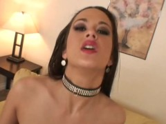 Latina gets her massive tits covered - Shock Wave