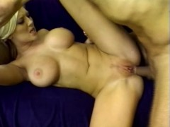 Blonde with huge tits butt fucking - Shock Wave