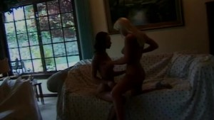 Petite lesbians licking and toying - Shock Wave