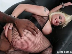 Leya Falcon Fucked Hard By Big Black Dick