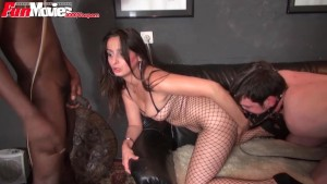 FunMovies German amateur girl and her 2 sex slaves