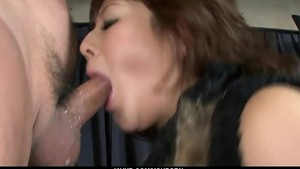 Kinky and playful brunette babe making out and fucked