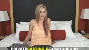 Private Casting X - That's how you give a facial!