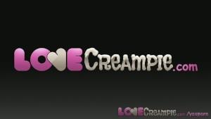 Love Creampie Leggy teen in 69 sucks lover's cock before he cums inside