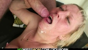 I found my mother with a dick in her mouth