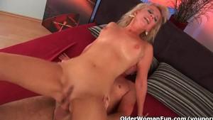 Lustful granny gets fucked hard