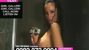 Georgie Darby Naked in The Shower on Babestation
