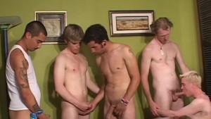 Group Of Friends Get Together To Cum - Factory Video
