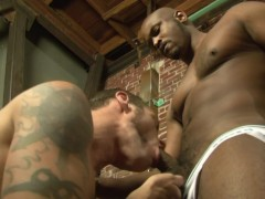 Worshipping Black Cock - Factory Video
