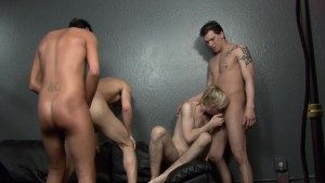 Twink Group Fuck - Factory Video